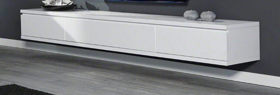 zwevend tv meubel maken van mdf