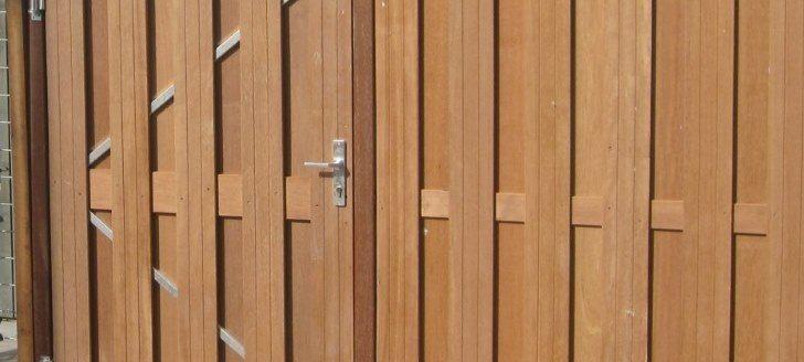 in 5 stappen je houten schutting geplaatst