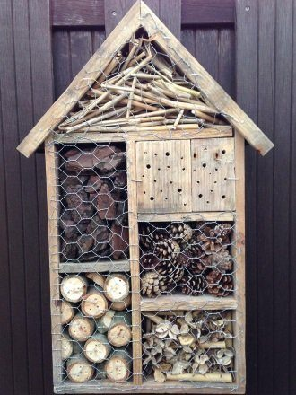 insectenhotel maken hout