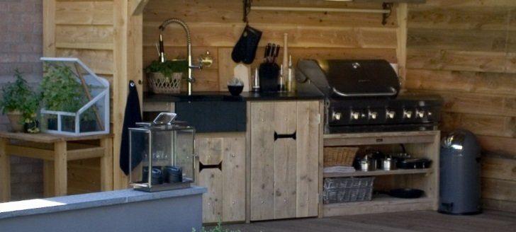 Zelf buitenkeuken bouwen for Eigen keuken bouwen