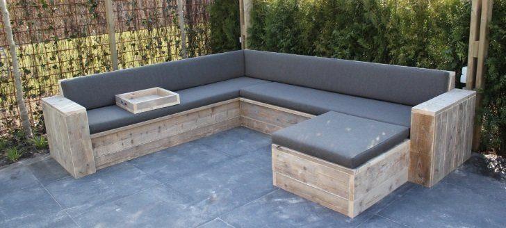 Fabulous Loungebank zelf maken? 6 Handige Tips - Bouwtekeningen-Hout.nl &ST08