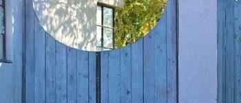 tuinpoort maken van hout