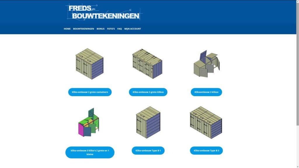 kliko ombouw maken - Freds Bouwtekeningen