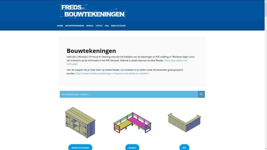 Freds bouwtekeningen Review
