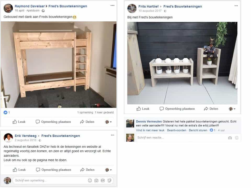 Freds bouwtekeningen Facebook reviews