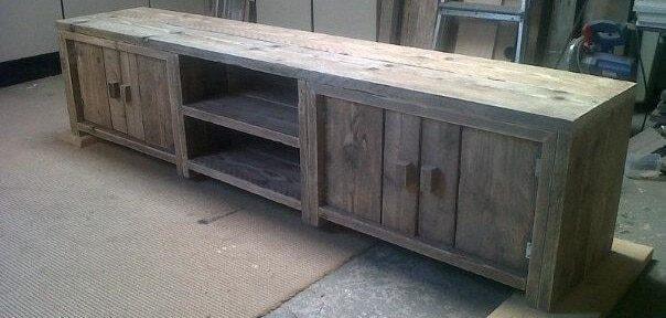 4 tips om een tv meubel te maken bouwtekeningen for Zelf meubels maken van hout
